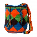 Mochila Wayuú Mini Rombo Multicolor
