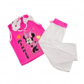 Pijama Regalo Capri Fuscia Minnie Mouse